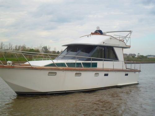 crucero acero 11m perkins x2 restaurado exterior e interior