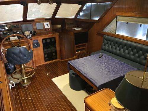 crucero acero naval 17 mts - oportunidad! - parodimarine.com
