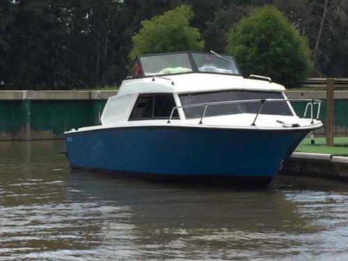 crucero acquamare azul kinetic desing - motor falcon 221