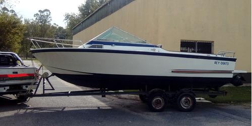 crucero acuamarine aquastylo 700 con trailer 2 ejes rutero