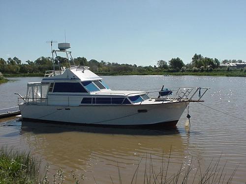 crucero  aller fisherman doble comando  2 perkins turbo