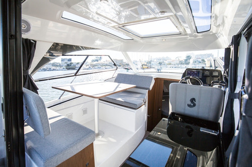 crucero beneteau antares 27 (9) c/ 2 fuera de borda 150 hp