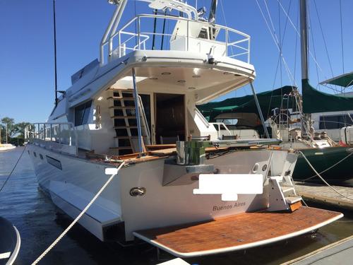 crucero clasico 66 astillero si 2 x 700hp man restaurado