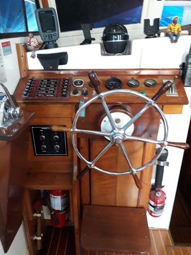 crucero clasico baader de madera