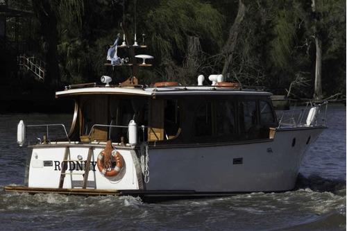crucero clasico de madera, claude 31 pies