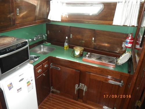 crucero clásico ithurbide 16mts 2 perkins 165hp