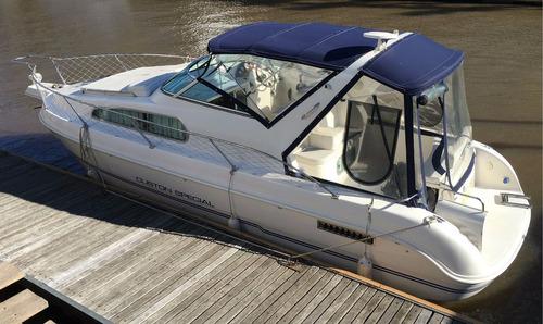 crucero custom special 2007 con motor mercrusier 5.0 220 hp
