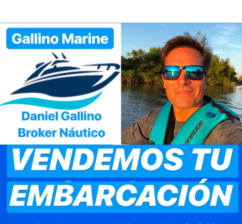 crucero custon special mercruiser 190 hp alpha one impecable