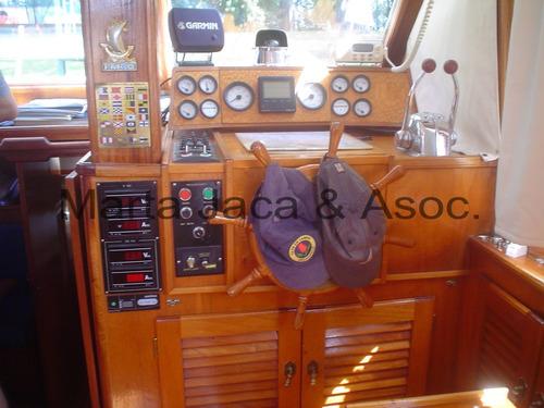 crucero de madera hossman 13 mts