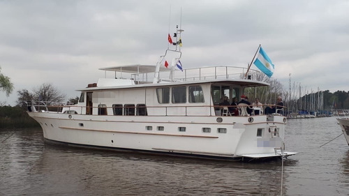 crucero de madera ortholan 21.58 2 gm 128 hp dsl