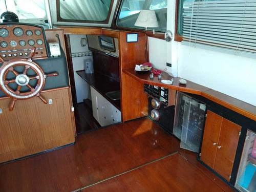 crucero de madera ortholan gm 270 hp linea de eje