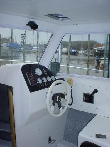 crucero fisher cabin 710 mercruiser 140hp nafta.