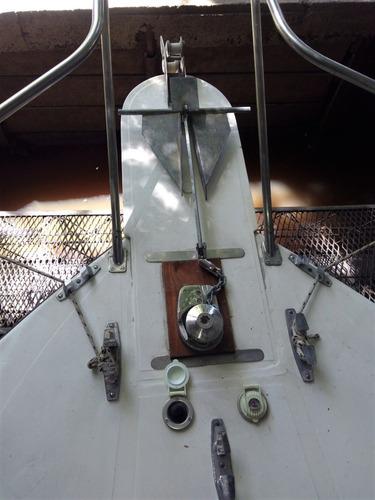 crucero flamingo 8.50 linea de eje perkins 140 hp todo fibra