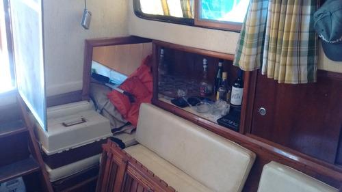 crucero grandjean 28. diesel 45hp impecable