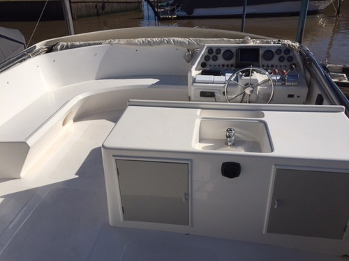 crucero ian 54 con motores gm detroit 2 x 550 hp año 1997