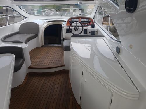 crucero klase 50  hard top - 2x450hp ivecco - gatti barcos