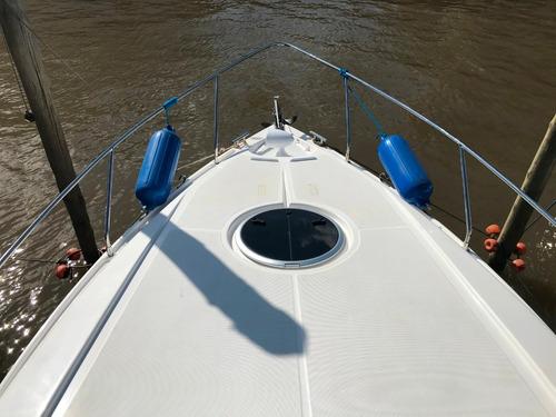 crucero klase a 34 ht  volvo 300 hp aire grupo 2018  68 hs