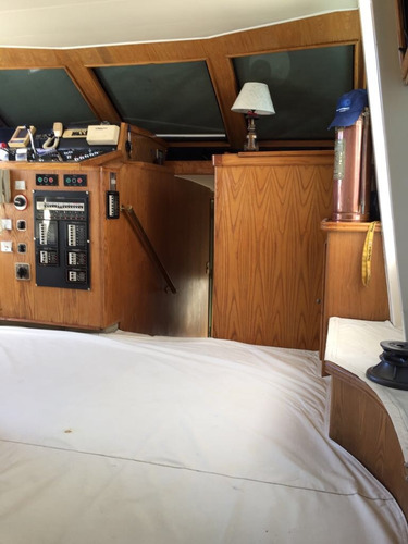 crucero madera 16,10 doble cabina 2 gm 485 hp crbarcos