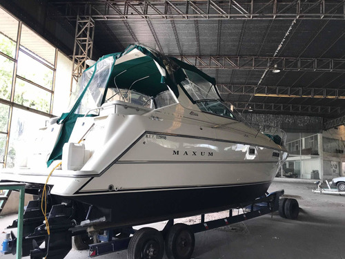 crucero maxum 3200 scr , 2 mercruiser cero horas , impecable