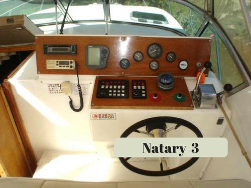 crucero nautiglass 915 30 pies 160 hp con pata volvo 270
