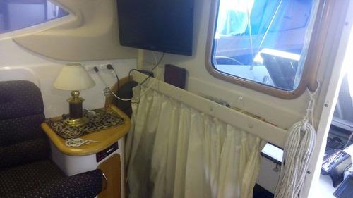 crucero o barco sk 35 con volvo 260 diesel - bow truster!