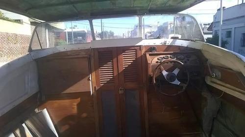crucero paglietini compacto 6.90/// con trailler o km