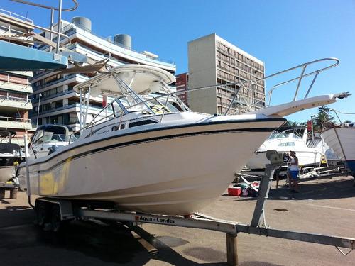 crucero pesquero deportivo en excelènte estado! oportunidad!