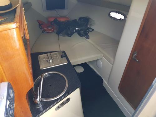 crucero quest 25 motor 225hp muy buen estado en guardería