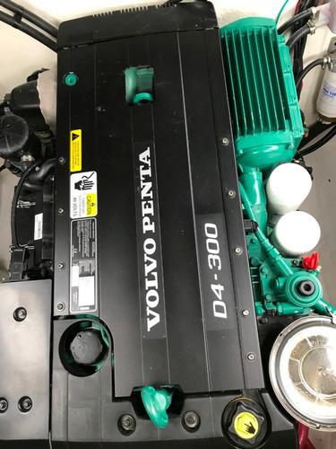 crucero quest 330 volvo diesel 300hp dp 2018 41 hs blanco