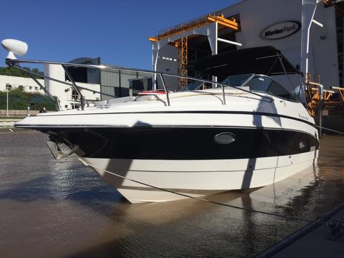 crucero quicksilver 2700 con volvo v8 300 hp duoprop 2016