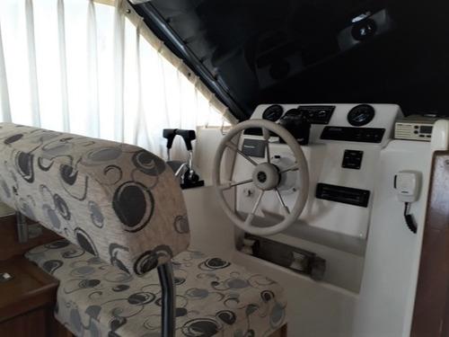 crucero santana 35 diesel excelente estado