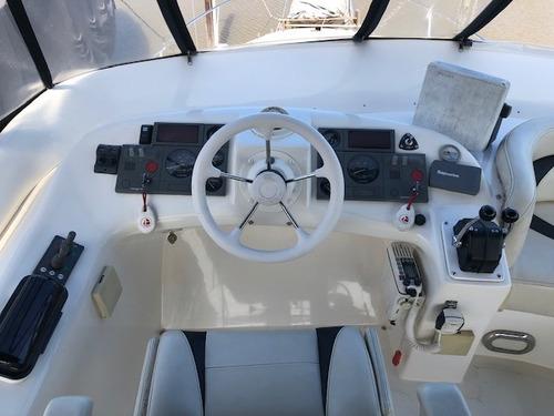 crucero santana 38 2 yanmar 315hp c/u td ejes gallino marine