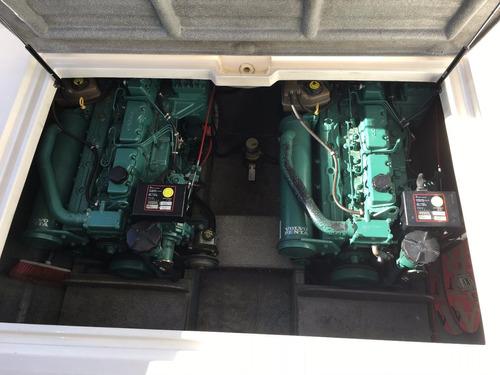 crucero santana 38 2004 530hs 2 volvo 200 hp diesel duo prop