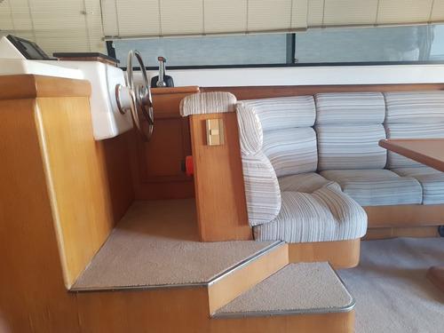 crucero segue 44 - 1992 - volvo 2x380hp diesel gatti barcos