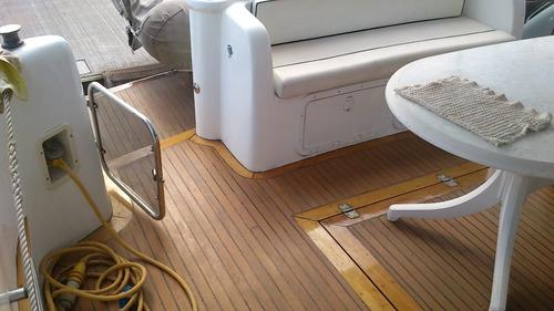 crucero segue 44 - 1995 - volvo 2 x 370 hp -  gatti barcos