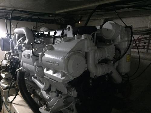 crucero segue 57/62 con motores iveco 2 x 750 hp nuevos
