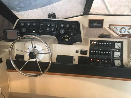 crucero sk 43 con volvo 2 x 300 hp 1994 / aire y grupo