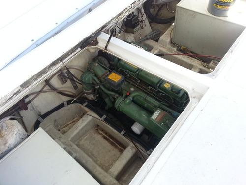 crucero sk33 flyn motor volvo 200 tdiesel equipado permuto!!