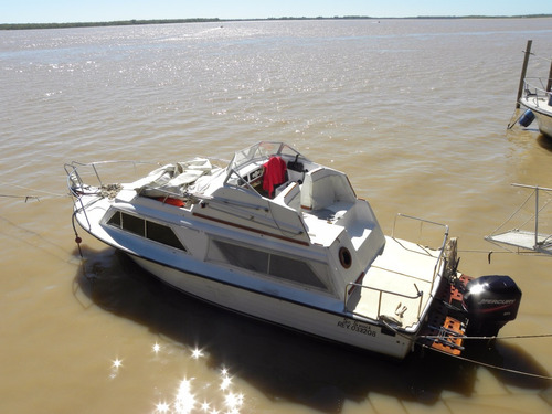 crucero tarrab 101 con motor f/b mercury 200 hp