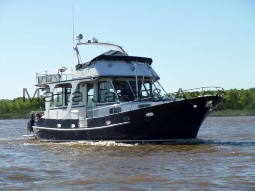 crucero trawler de acero naval