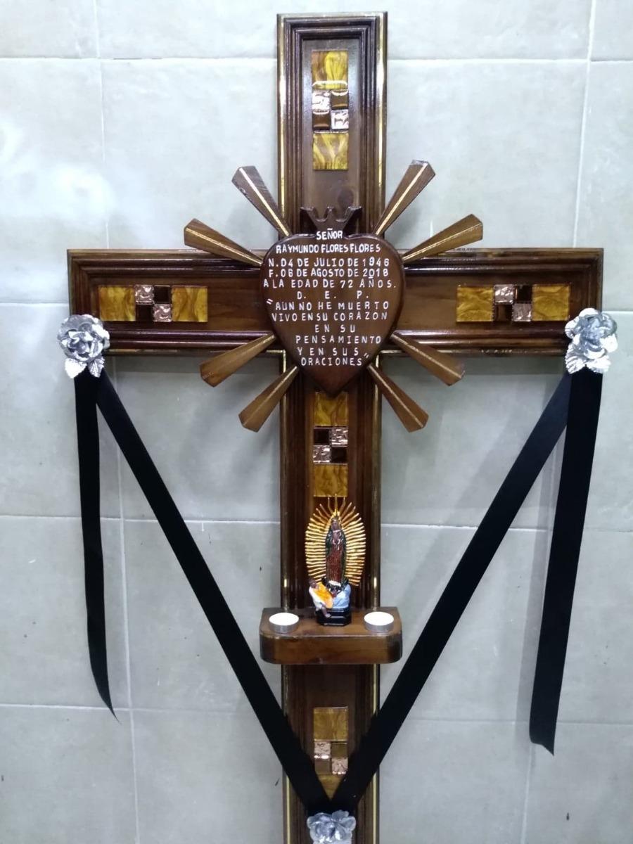 Cruces De Difunto Para Panteón, Incrustaciones De Cristal ...