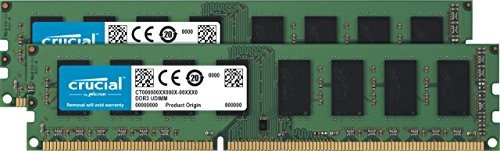 crucial 8gb kit de (4gbx2) ddr3l 1600 mt/s (pc3l-12800) sin