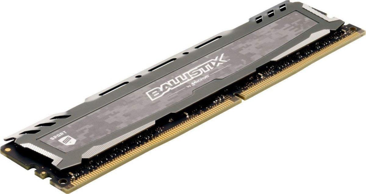 Crucial Ballistix Ram Ddr4 16gb (2x8) 3000 Mhz Ryzen Intel