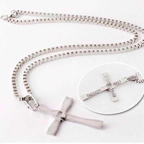 crucifixo colar pingente dominic toretto - frete grátis