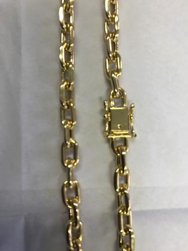crucifixo com diamantes + corrente  cartier oca 25 gramas.