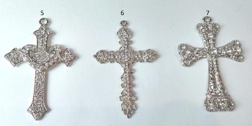 crucifixo cruz para terço de noiva prata vários modelos