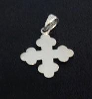crucifixo - pingente em prata 925