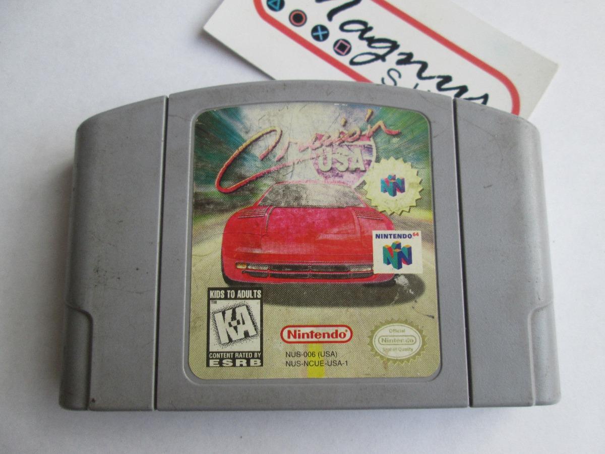Cruisn Usa Para Nintendo 64 Juego Carreras N64 Funcionando