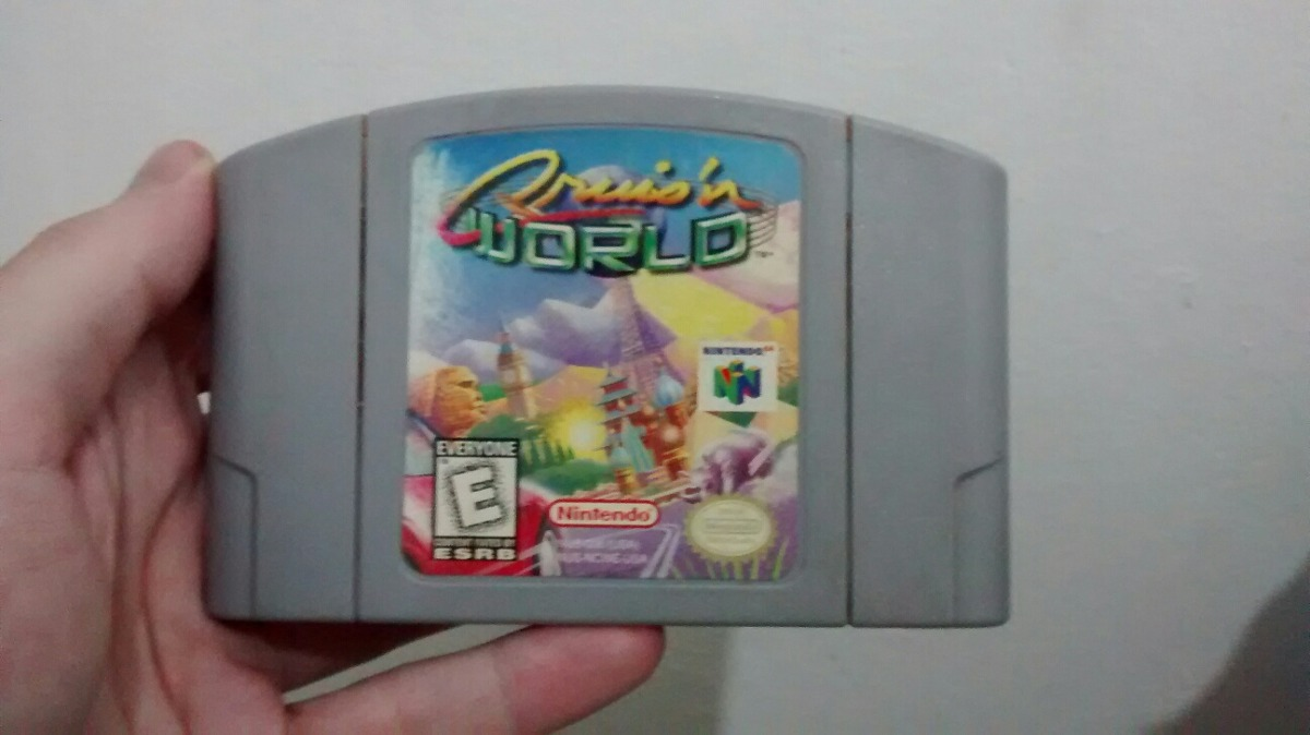 Cruisn World Nintendo 64 N64 Cartucho Carreras Mas Juegos 670 00