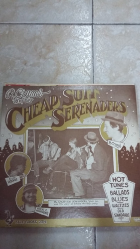 crumb and his cheap suit serenaders - hot tunes - vinilo